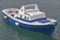 Fishing boat on the Croatian coast