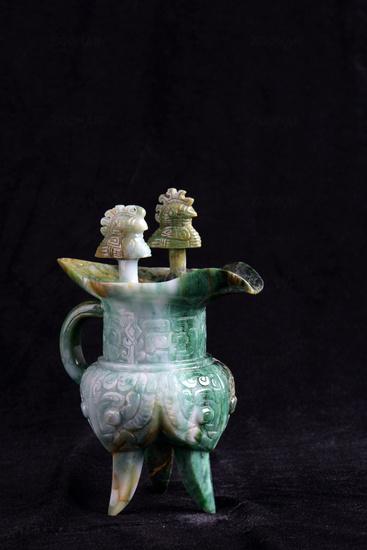 Chinese ancient jade carving art