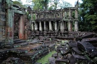 Ruin temple at Angkor Wat