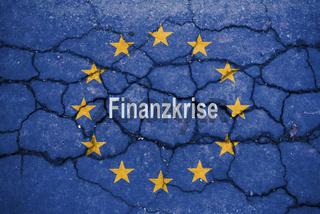 symbol of crisis in the EU
