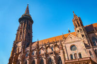 cathedral in Freiburg