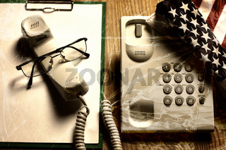 violance telephone call crack glass