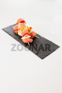 Schaschlik, eine scharfe Variante für das Barbecue