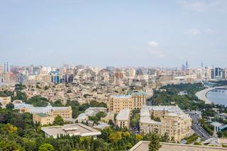 View over Baku downtown, Azerbaijan
