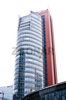 Unisys Tower in Kaisermühlen in Wien, Österreich, Europa / Unisys Tower in Kaisermühlen, in Vienna, Austria, Europe