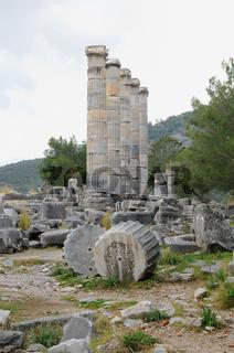 Athena - Tempel     Priene
