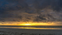 Sunrise on Diani Beach
