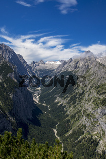 Zugspitze in den Bayerischen Alpen