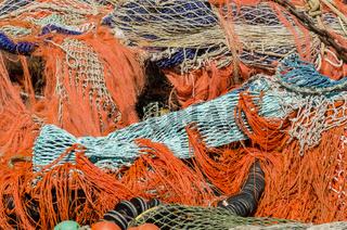 Pile of Fishing Nets Urk