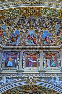 Basilika Santa Maria Maggiore, Bergamo, Italy