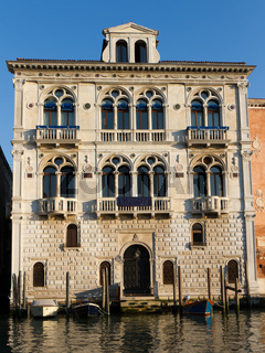 Palazzo Corner Spinelli at the Grand Canal