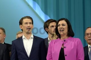 Wahlkampfauftakt mit Sebastian Kurz