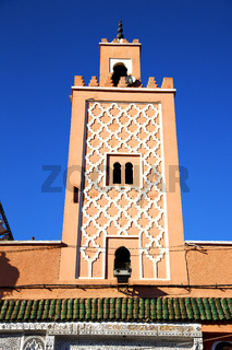 maroc africa minaret and the tile