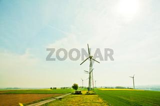 windenergie, windrad, windpark