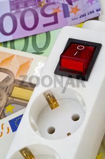Kostensteigerung für Strom