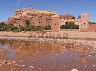 Ksar ait ben haddou in marokko