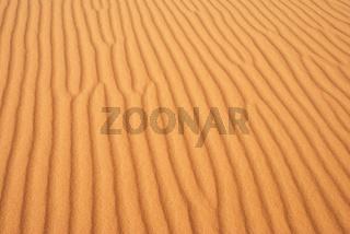 Durch den Wind geformte Sanddünen, Erg Chebbi, Marokko, Afrika