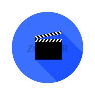clipper board flat icon