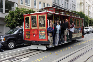 Cable Cars in  San Francisco, Kalifornien, USA