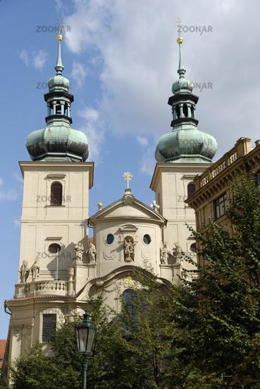 St.Gallus Church in Prague