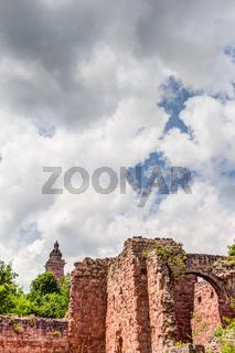Unterburg am Kyffhäuser-Denkmal