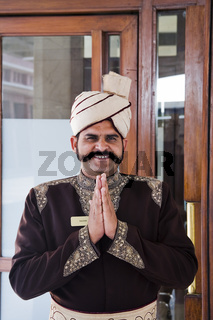 Inder mit Turban, Nordindien, Indien, Asien . indian with turban, North India, India, Asia
