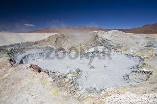 Geysire Sol de Manana, Altiplano, Bolivien, Surdamerika, Geysers Sol de Manana, Altiplano, Bolivia, South America