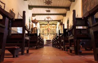Serra Chapel at the Mission San Juan Capistrano