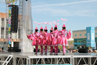 Festive concert. May 1 holiday. Kazakhstan. Aktau.