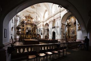 Ursulinenkirche in Linz, Oberösterreich, Österreich, Europa - Ursulinen Church in Linz, Upper Austria, Austria, Europe