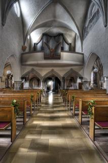Stadtpfarrkirche in Gmunden, Oberösterreich, Österreich, Europa - parish church in Gmunden, Upper Austria, Austria