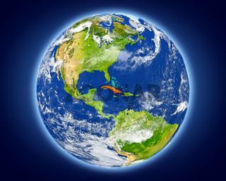 Cuba on planet Earth