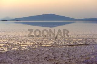 Assale Salzsee (Lake Assale), Danakil Depression Afar Dreieck, Äthiopien