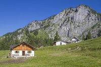 Front Scharnitzalm in the Benedictine area