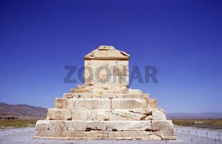 Steinsarkophag von Kyros dem Großen, Iran