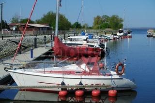 Westpommersche Segelroute, Marina Wapnica