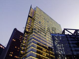 DB Tower und Sony Center, Deutschland, Berlin