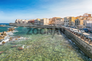 Panoramic view of the ancient Ortigia island
