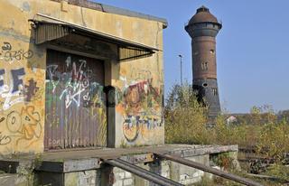 Industriebrache Rangierbahnhof Duisburg-Wedau, NRW, Deutschland, Europa