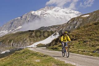 Mountainbiketour in Südtirol