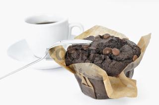 Muffin zum Kaffee