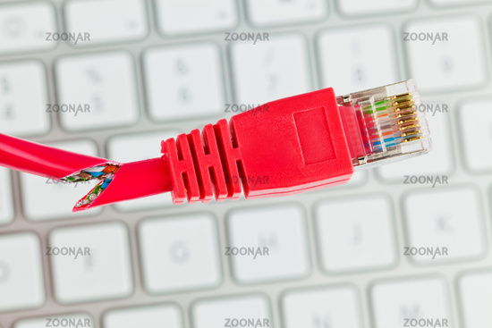 Network cable of a computer