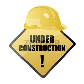 under construction symbol