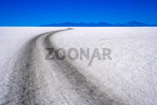 Road Through Salar