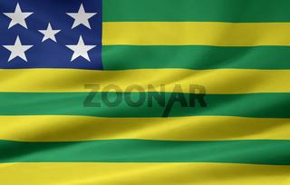 Flagge von Goias - Brasilien