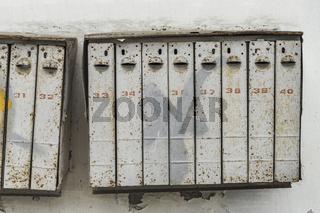 alte Briefkaesten | old mailboxes