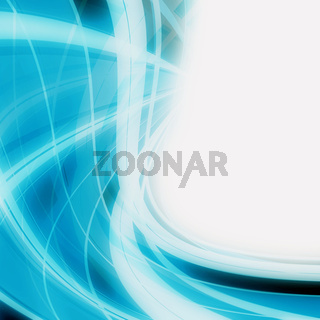 abstract elegant curved object