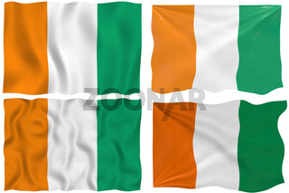 Flag of Cote d'Ivoire