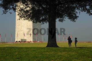 Am Washington Monument