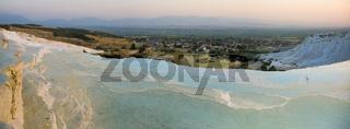 Pamukkale limestone pools